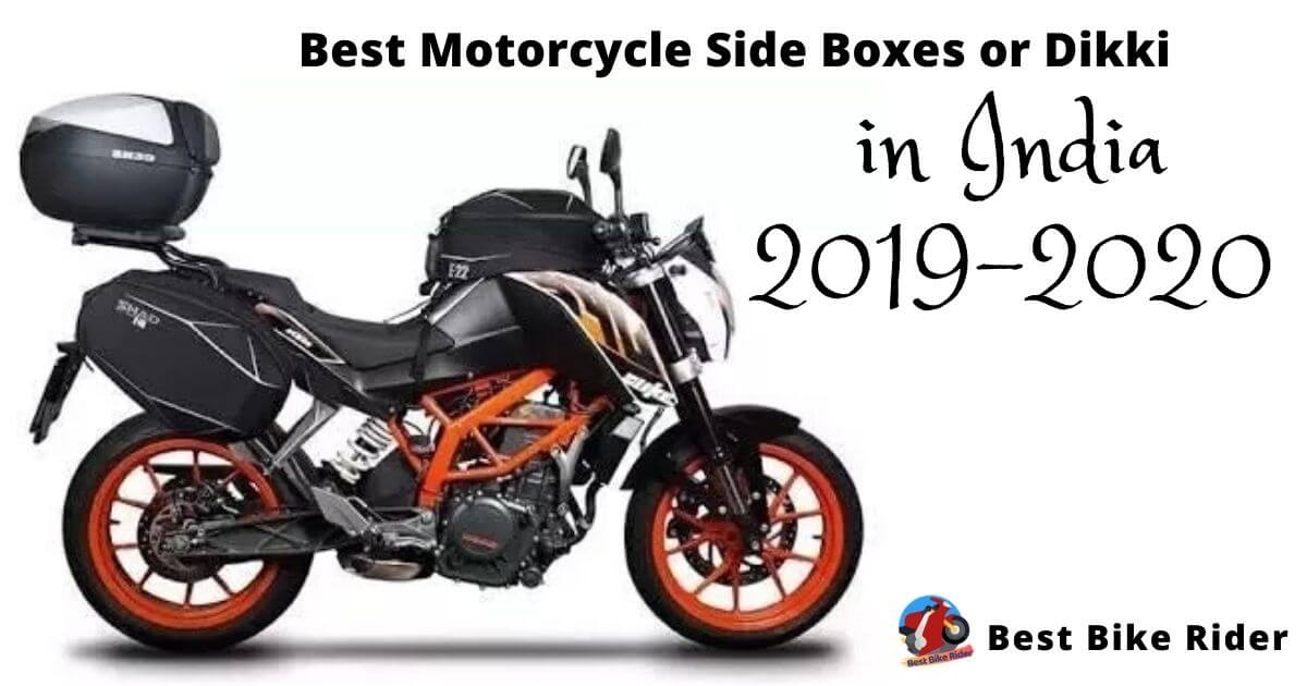 6 Best Motorcycle Side Boxes in India 2019-2020