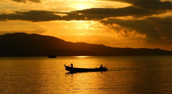 Sunset in Andaman